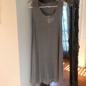 Umgee Gray Swing Dress Sz S